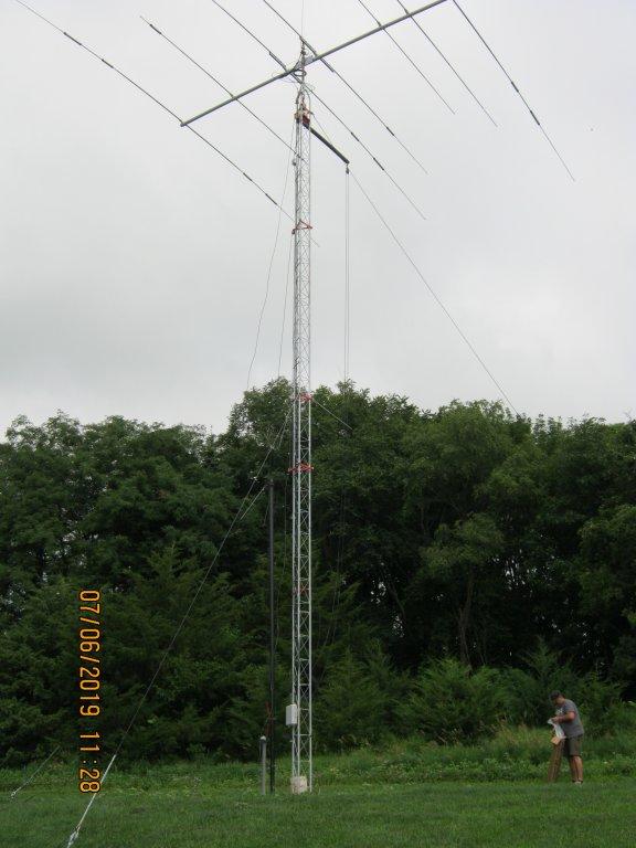 AE0GU antenna project – Southwest Iowa Amateur Radio Club