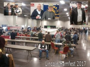 Who went to the Lincoln Hamfest?