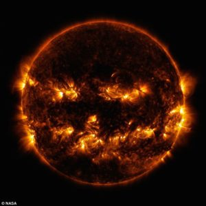 This is what the Sun looks like when you filter out ALL the other frequencies