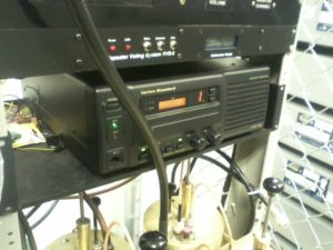 Here is the 146.82 repeater and voter at the Simms street site. I took these photos with a $5 mobile phone. -wa0zqg