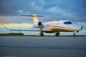 This is a Bombardier Lear 75 DWE only said 'Learjet'