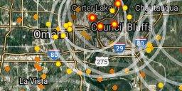 Council Bluffs under attack!