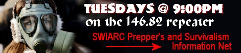 Tuesday 9:00pm, Prepper's and Survivalism Information Net