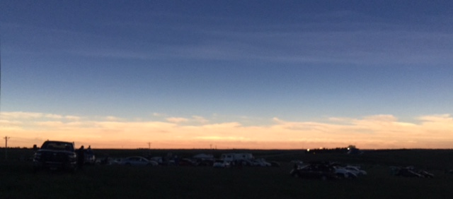 KD0NME: The viewing field and horizon during totality