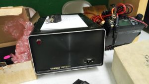 One of many power supplies offered at Springfield (This from a Yaesu 301)